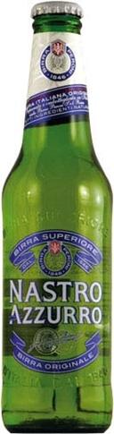 Birra Nastro Azzurro 24x33 cl bottiglia