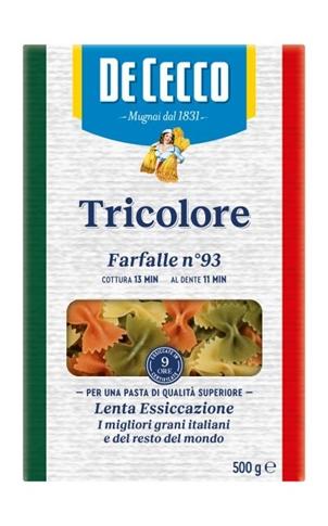 Farfalle tricolore gr.500 Termo
