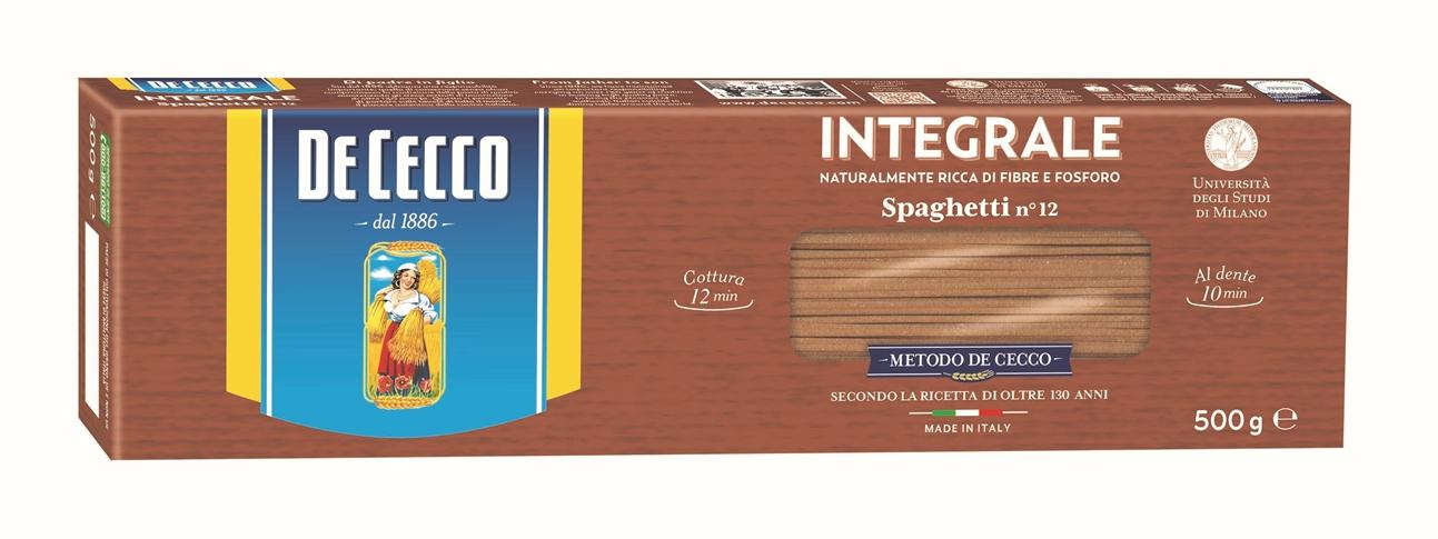 Spaghetti Integrali gr. 500 De Cecco