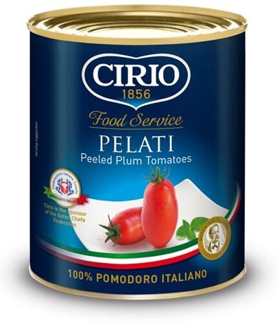 Pomodori Pelati Cirio lattina kg. 1
