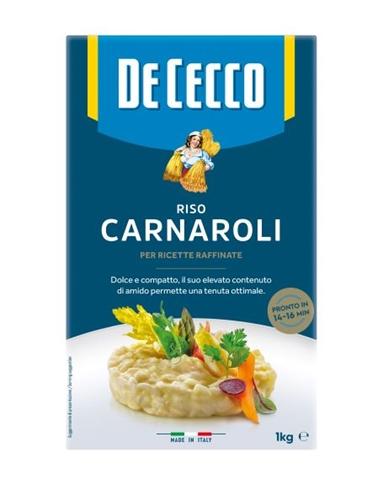 Carnaroli De Cecco kg. 1 sottovuoto