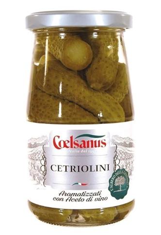 Cetrioli fini Coelsanus vasetto gr. 360