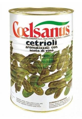 Cetrioli medi Coelsanus latta kg. 4.000