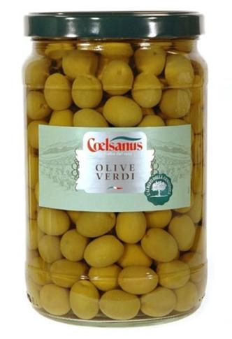 Olive verdi 24/26 Coels. kg. 1.72 vaso