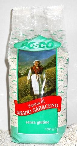 Farina grano saraceno Kg. 1 (senza glutine)