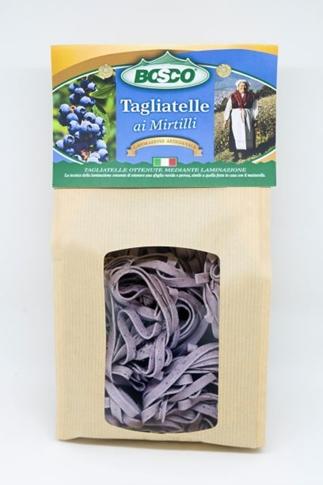 Tagliatelle ai mirtilli sacchetto 250 gr. Bosco