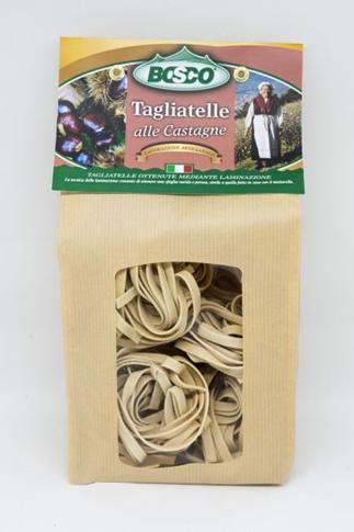 Tagliatelle alle castagne sacchetto 250 gr. Bosco