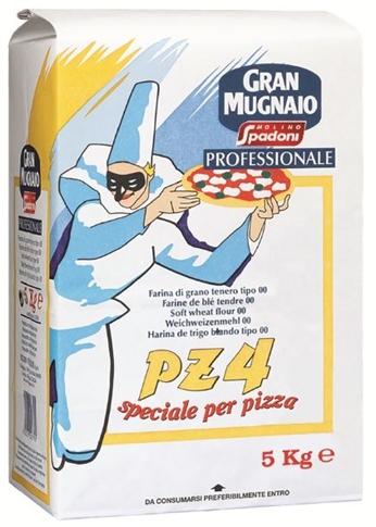 Farina per Pizza croccante PZ4 kg.5