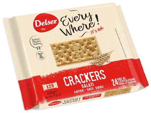Crackers salati gr. 500