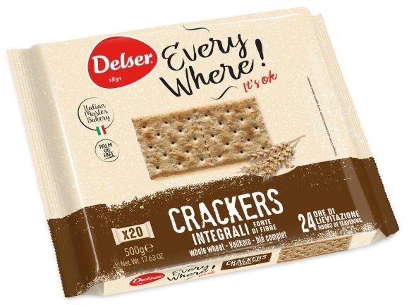 Crackers integrali gr. 500