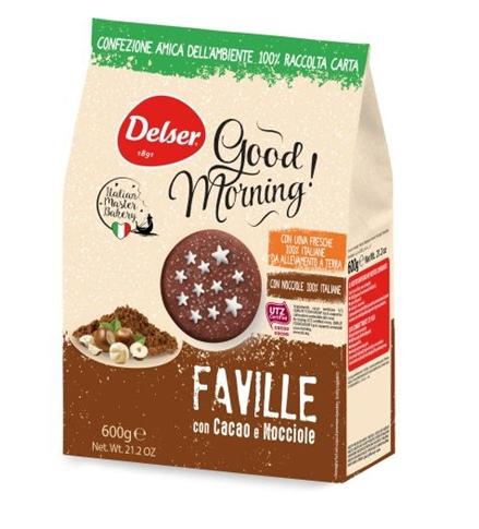 Faville Cacao/Nocciole gr.700